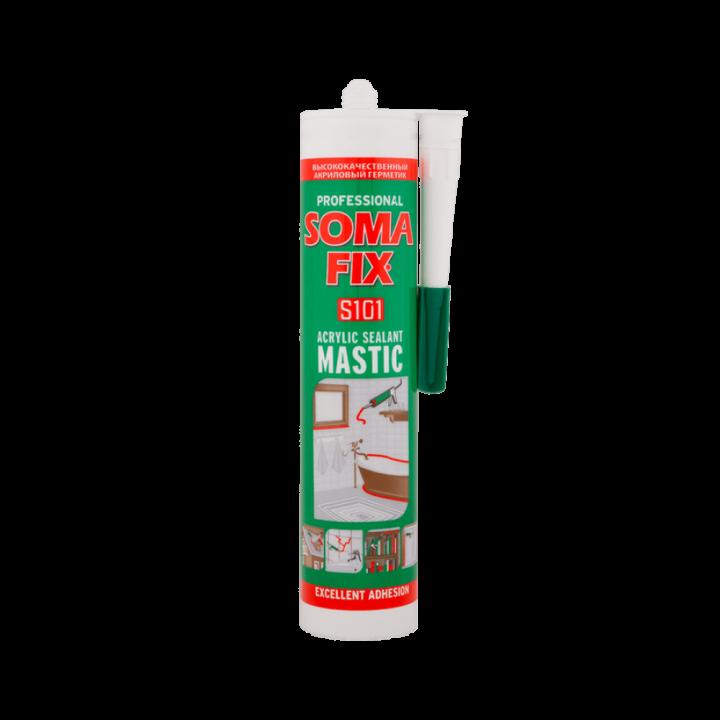SOMA-FIX Акриловий герметик білий 310мл