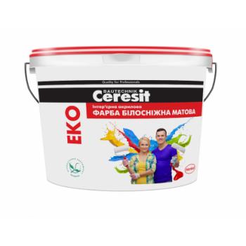 CERESIT ЭKO Интерьерная акриловая матовая краска, 14кг