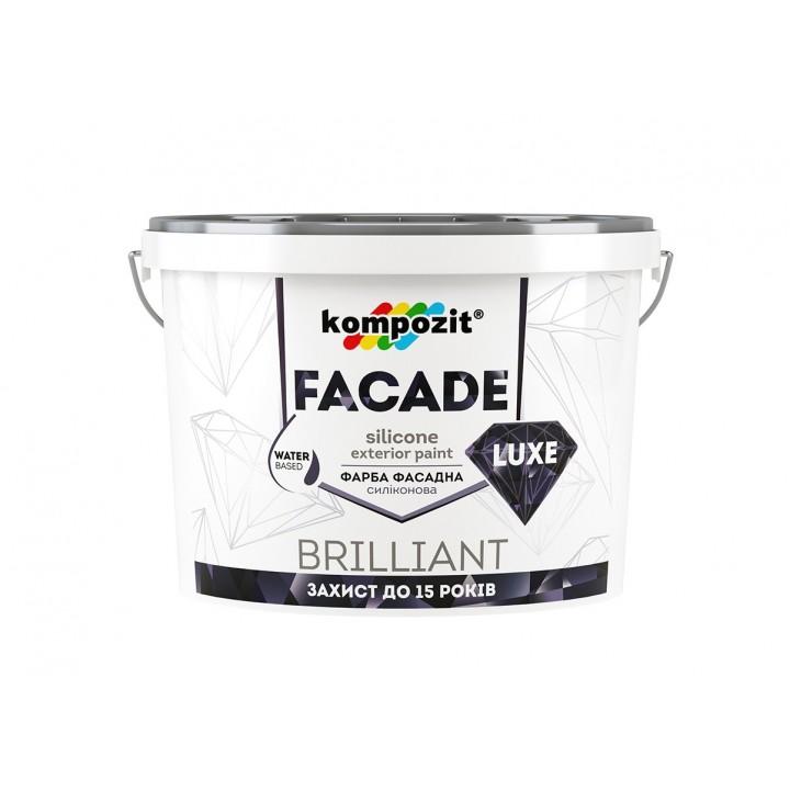 """Краска фасадная силиконовая FASADE LUXE """"Kompozit"""" (14 кг)"""
