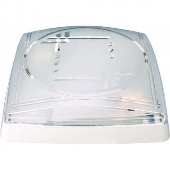 HOROZ  светильник Арматура квадратная с двумя патронами (белый)