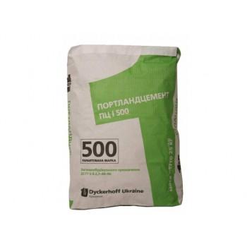 Цемент М 500 ДИКЕРГОФФ (Киев) 25 кг.