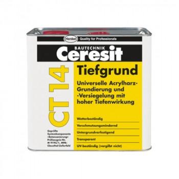 CERESIT CT-14 Грунтовка универсальная глубокопроникающая