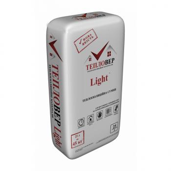 ТЕПЛОВЕР Штукатурка теплоизоляционная Light 7кг (25л)