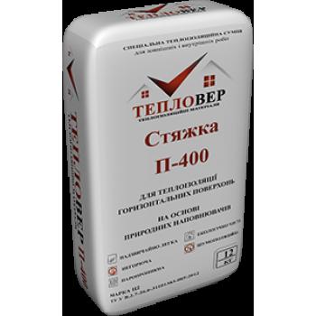 ТЕПЛОВЕР Теплоизоляционная стяжка П-400 12кг (35л)