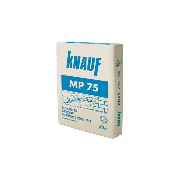 Штукатурка гипсовая машинная Knauf МР 75 30кг