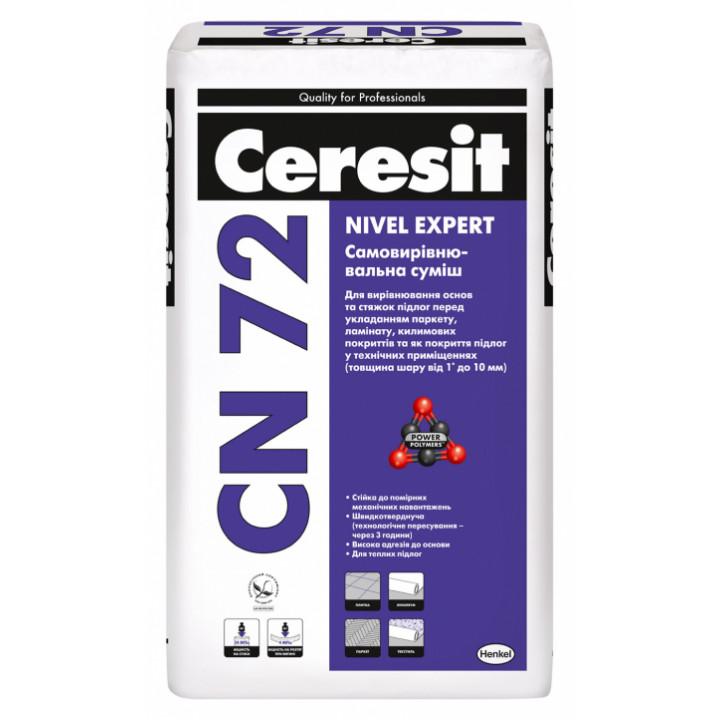 Самовыравнивающаяся смесь CERESIT CN-72