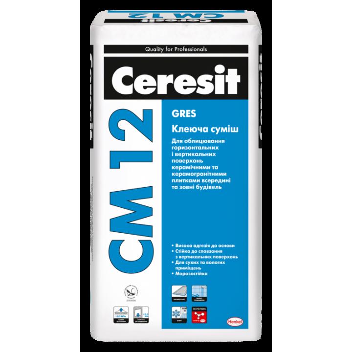 CERESIT СМ-12 Клеящая смесь 25кг