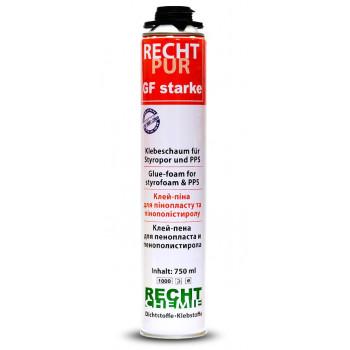 Пена-клей для пенопласта RECHT PRO GF 750 мл.
