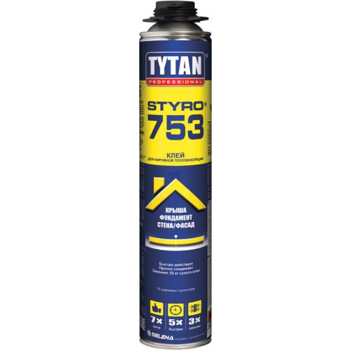 Пена-клей TYTAN PRO GUN 750 мл.
