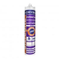 Герметик санитарный силиконовый белый ЛАКРИСИЛ (Lacrysil) 280мл.