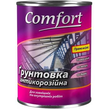 Грунтовка Комфорт (Comfort) ГФ-021 красно-коричневая (2,8кг.)
