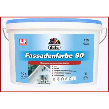 Краска фасадная DUFA Fassadenfarbe F90 (7кг)