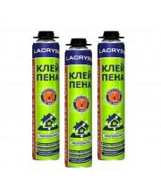 Клей-пена профессиональная всесезонная LACRYSIL (850 мл)