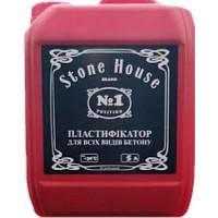 Пластифікатор для бетону та цементних розчинів STONEHOUSE (10л)