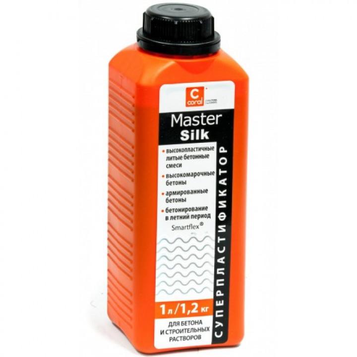 Пластифікатор для бетону Coral Master Silk (1л)