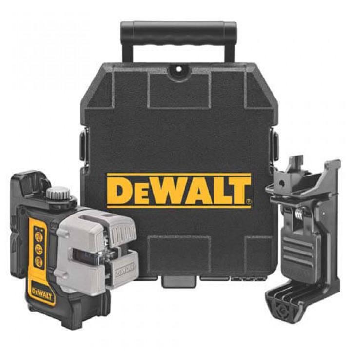 Лазер самовыравнивающийся 3-х плоскостной DeWALT DW089K