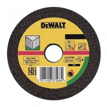 Круг отрезной по камню 115мм DeWALT DT3401-QZ