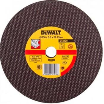 Круг отрезной по металлу 230x3.0x22.23мм DeWALT DT3430-QZ