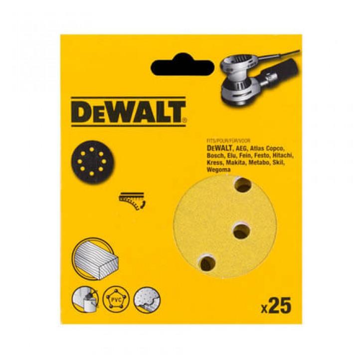 Cамоклеющаяся шкурка 125мм DeWALT DT3118XM