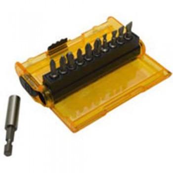 Набор бит Extra Grip Pz/Ph 11 предметов DeWALT DT7915
