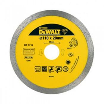 Диск алмазный 110х5мм для плиткореза DWC410 DeWALT DT3714