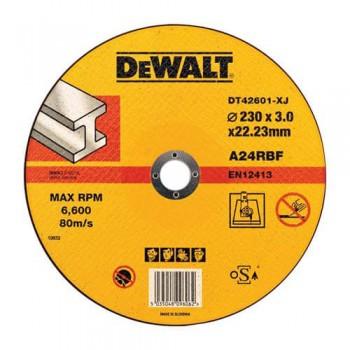 Круг отрезной по металлу 230мм DeWALT DT42601