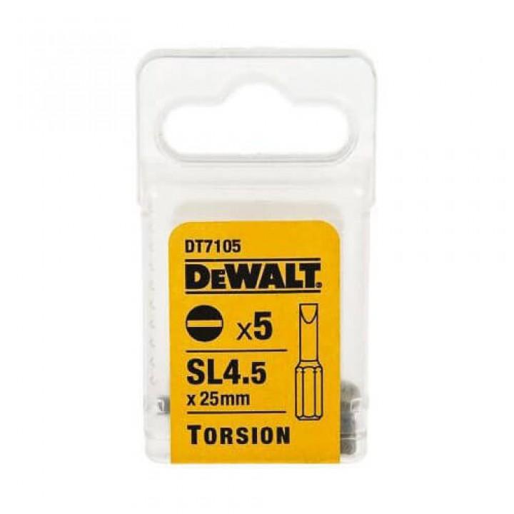 Биты TORSION DeWALT DT7105