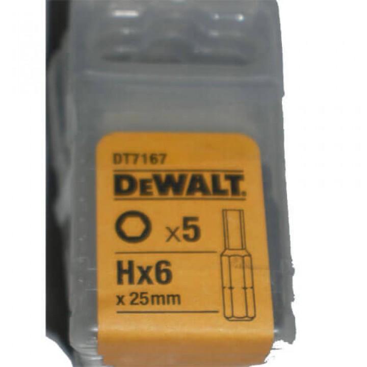 Биты TORSION DeWALT DT7167