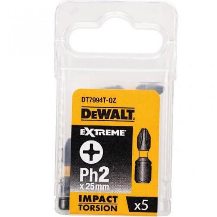 Бита ударная IMPACT TORSION EXTREME DеWALT DT7994T