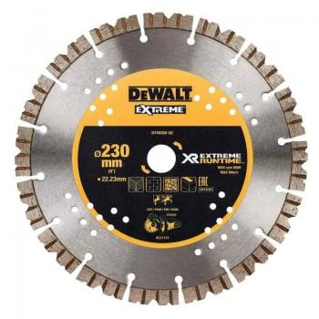 Диск алмазный EXTREME 230х3х22.23 мм для мокрого и сухого использования для УШМ и DCS690 DeWALT DT40260