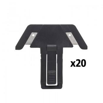 Картридж сменный с двумя безопасными лезвиями для ножа FMHT10361-0, 20 штук. STANLEY FMHT10376-1