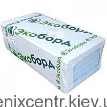 Пенополистирол Экоборд 40мм 0,6*1,2