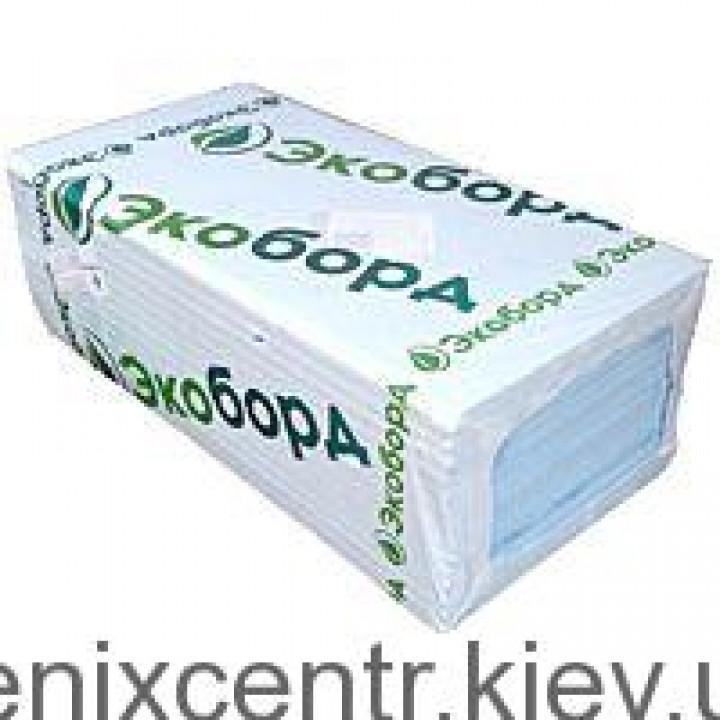 Пенополистирол Экоборд 50мм 0,6*1,2