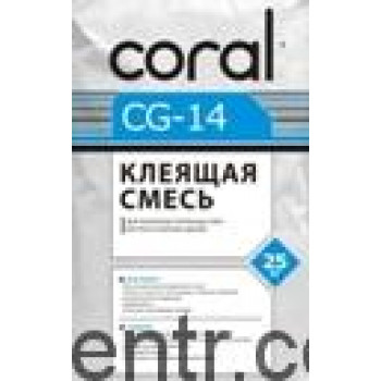 Клей для пенопласта КОРАЛЛ CG-14 (25 кг)