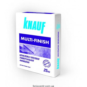 Шпаклевка KNAUF  Мультифиниш, 25 кг