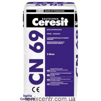 CERESIT CN-69 Самовыравнивающаяся смесь 25кг