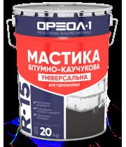 Мастика битумно-резиновая Ореол (3кг)