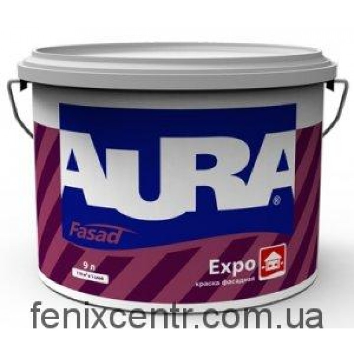 AURA Fasad Expo Краска дисперсионная 10л