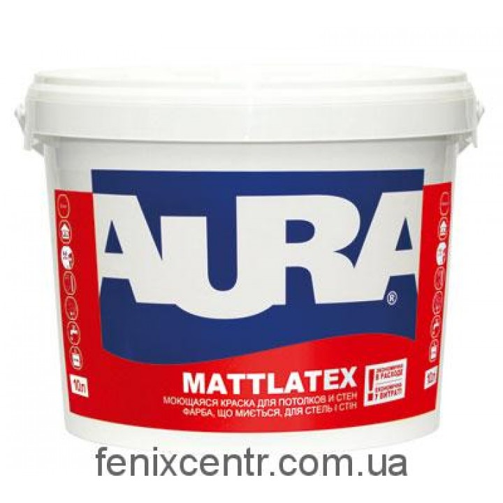 AURA Mattlatex Краска матовая латексная 1л