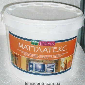 "Интекс Краска ""Матлатекс""1,5кг"