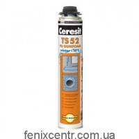 CERESIT TS-52 Проф. пена монтажная зимняя 750мл