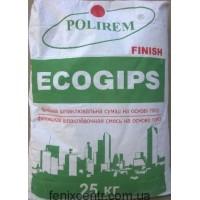 Шпаклевка POLIREM Ecogips finish 25кг