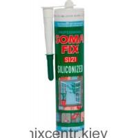 SOMA-FIX  Акриловый герметик прозрачный 310мл.