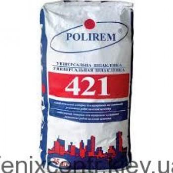 POLIREM 421 Ремонтная шпаклёвка на цементной основе 25кг