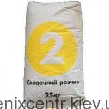POLIREM Светофор № 2 (раствор для кладки) 25 кг