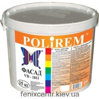 POLIREM ВД-1811 Краска фасадная 15кг