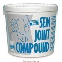 Шпаклевка финишная SEMIN SemJoint Compound 25кг.
