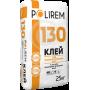 POLIREM 130 Клей для пінополістирольних плит, 25 кг