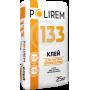 POLIREM 133 Клей для теплоізоляційних плит 25кг