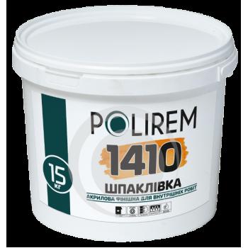 POLIREM ВД-1410 Шпаклевка акрил финиш готовая 15 кг